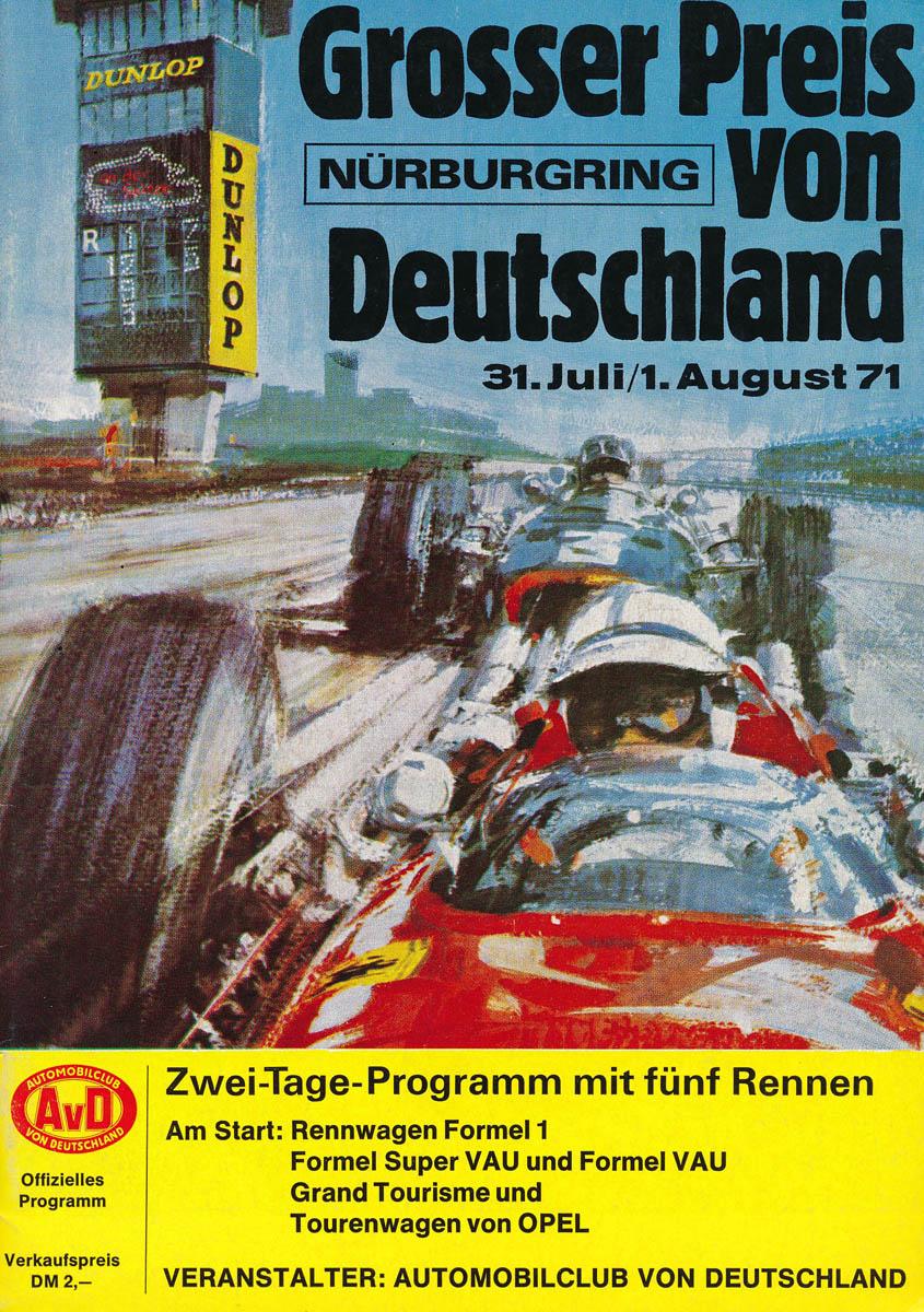 01.08.1971 - Nürburgring