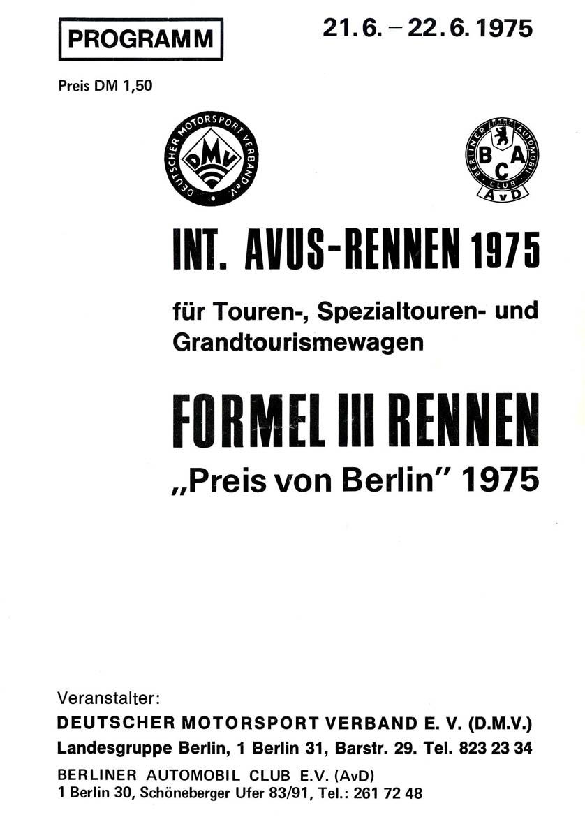 22.06.1975 - Avus