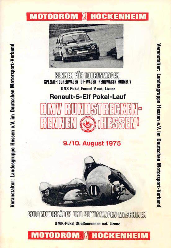 10.08.1975 - Hockenheim