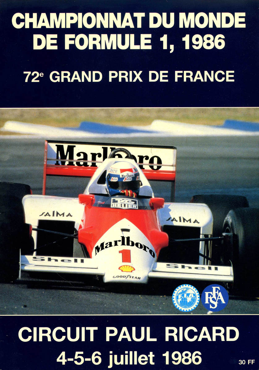 06.07.1986 - Paul Ricard