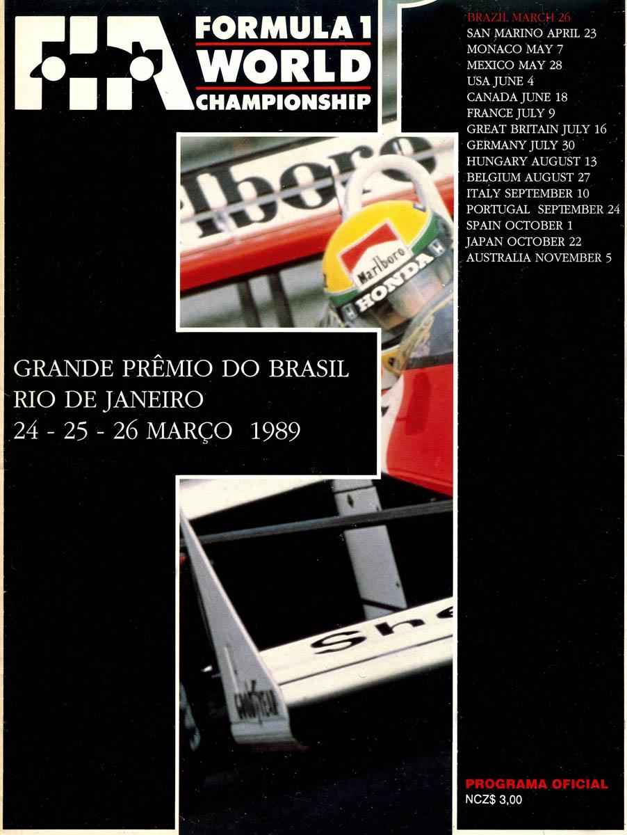 26.03.1989 - Rio de Janeiro