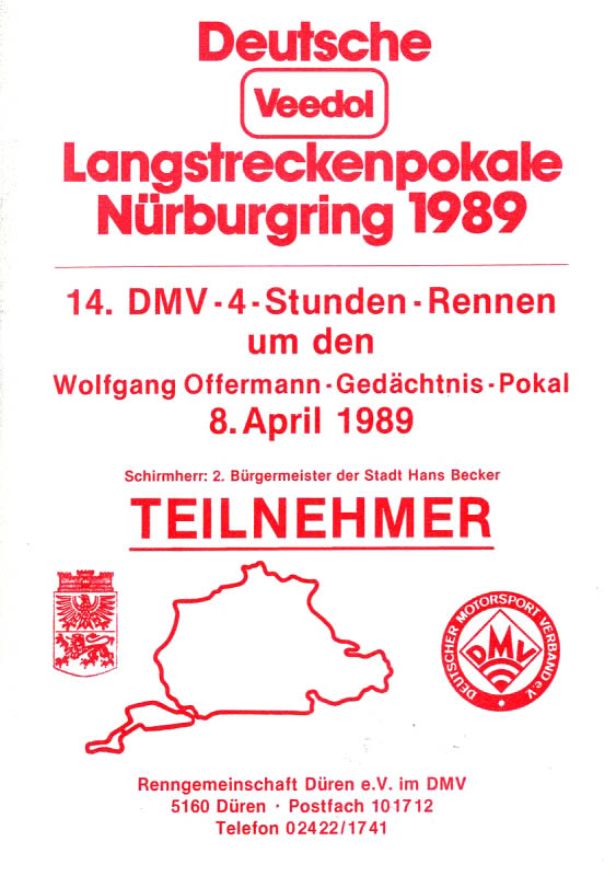 08.04.1989 - Nürburgring