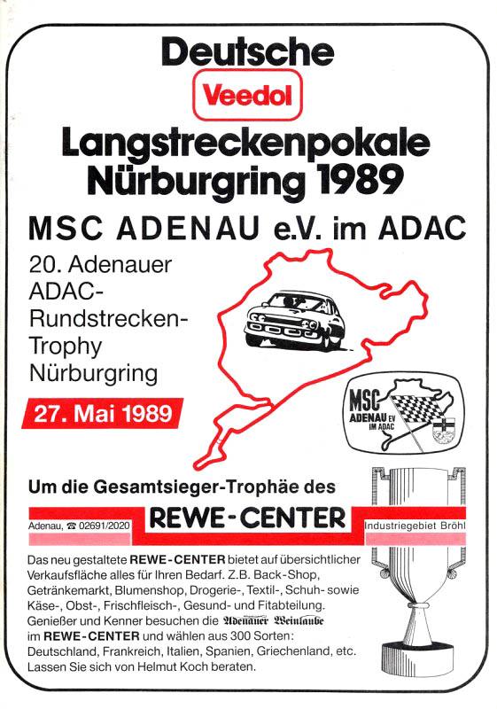 27.05.1989 - Nürburgring