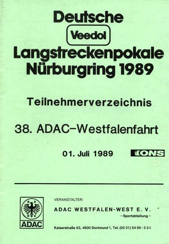01.07.1989 - Nürburgring