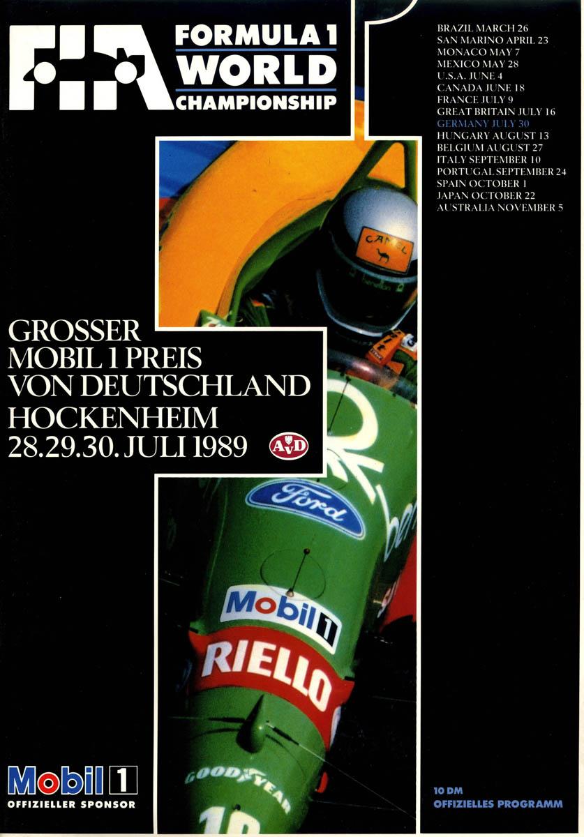30.07.1989 - Hockenheim
