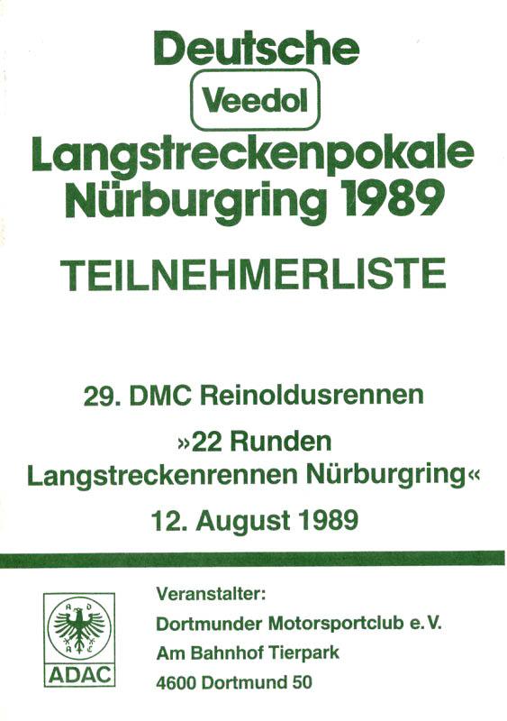 12.08.1989 - Nürburgring