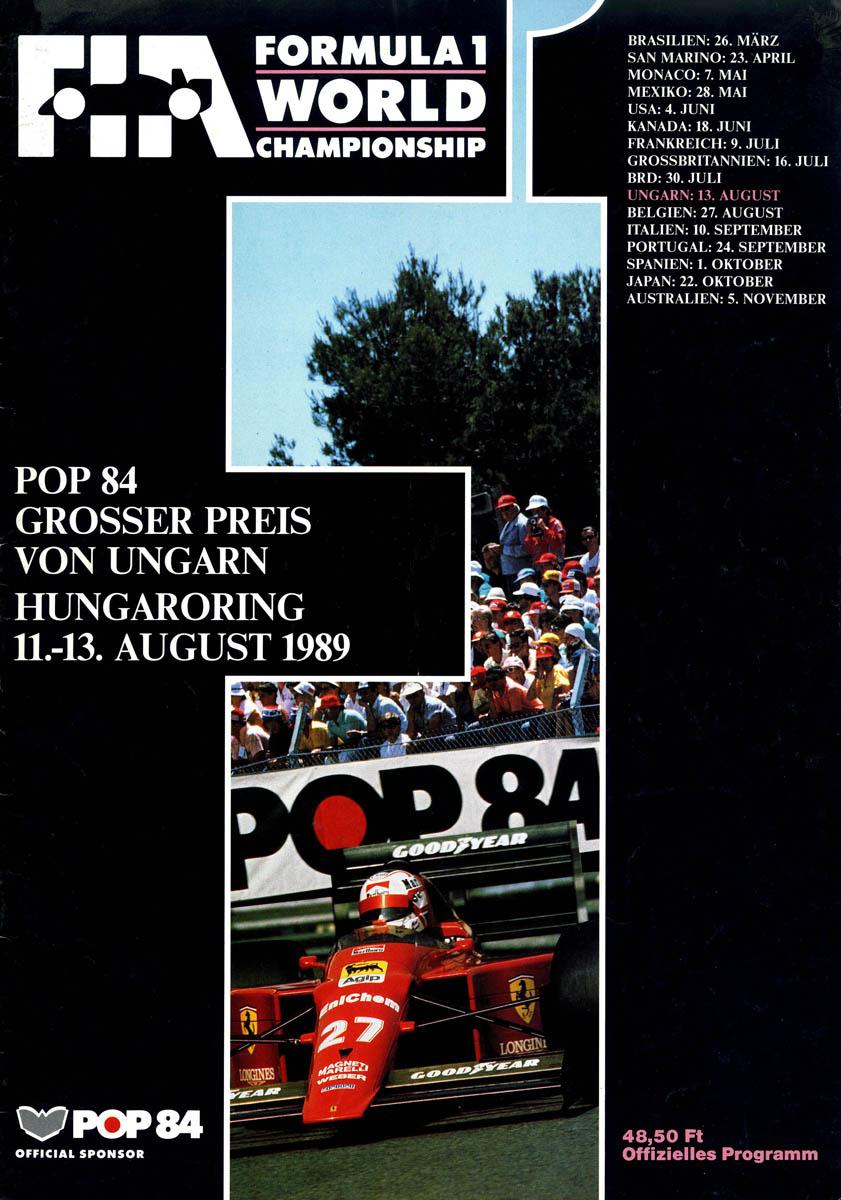 13.08.1989 - Hungaroring