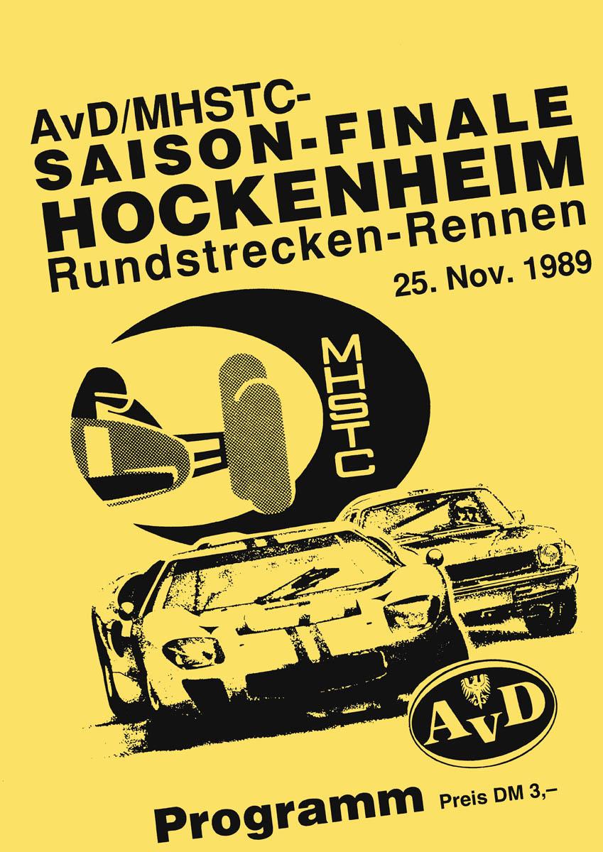 25.11.1989 - Hockenheim