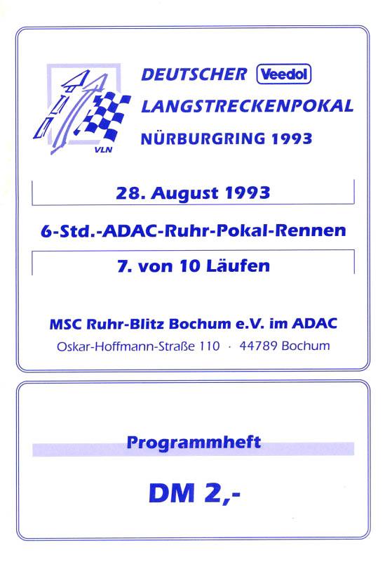 28.08.1993 - Nürburgring