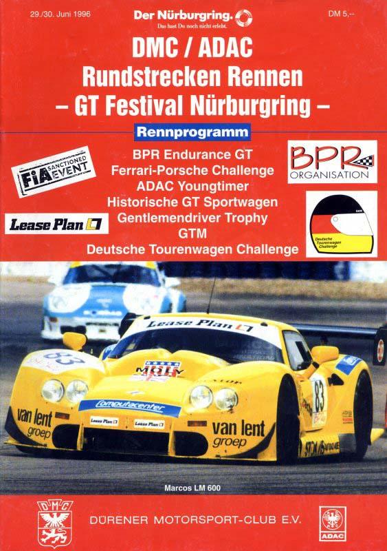 30.06.1996 - Nürburgring