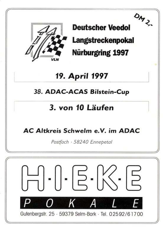 19.04.1997 - Nürburgring