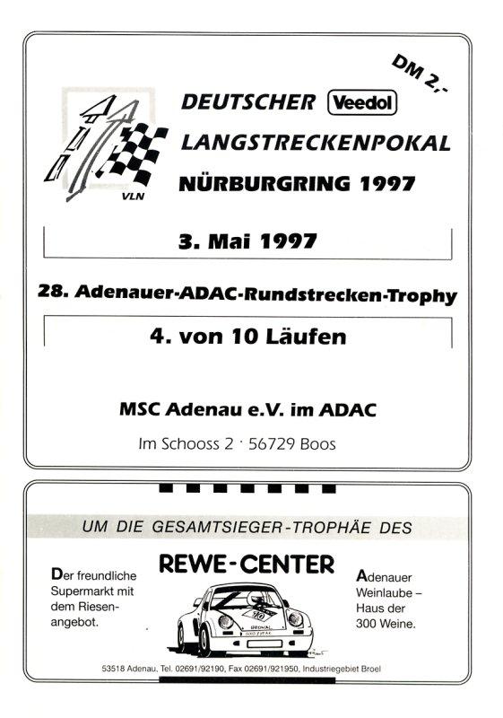03.05.1997 - Nürburgring