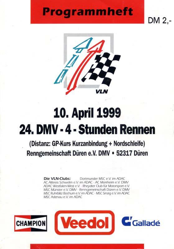 10.04.1999 - Nürburgring