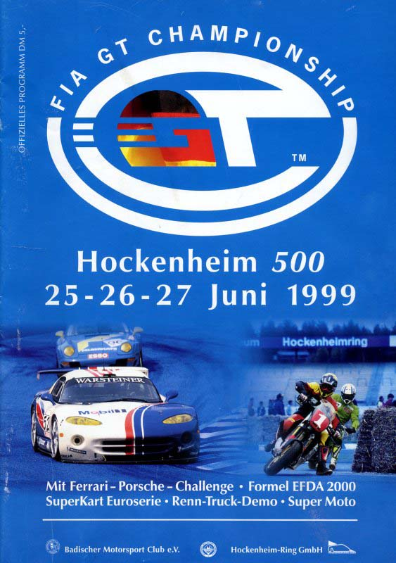 27.06.1999 - Hockenheim