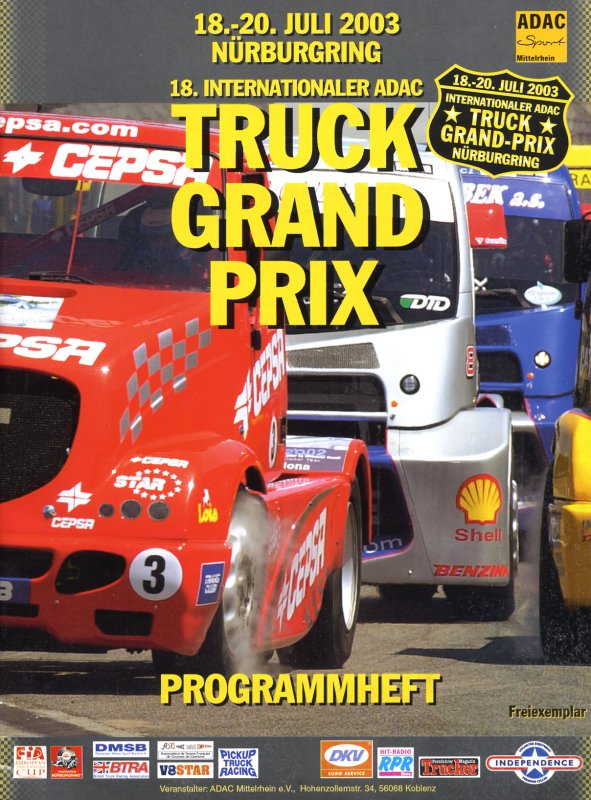 20.07.2003 - Nürburgring