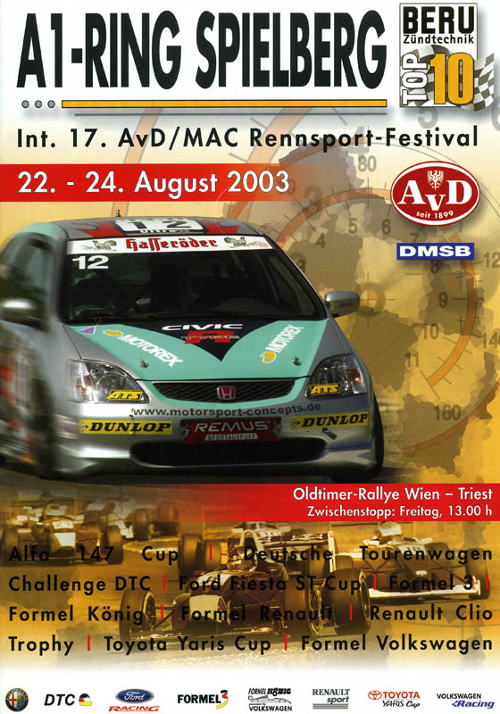 24.08.2003 - A1-Ring