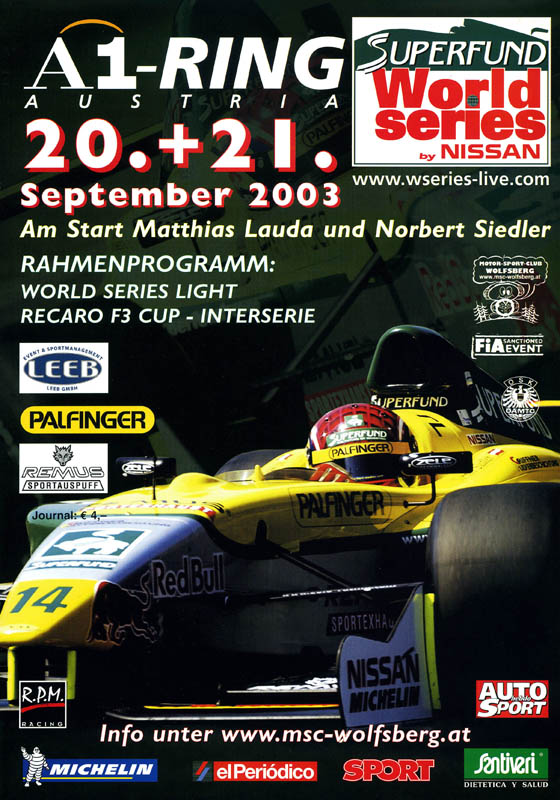 21.09.2003 - A1-Ring