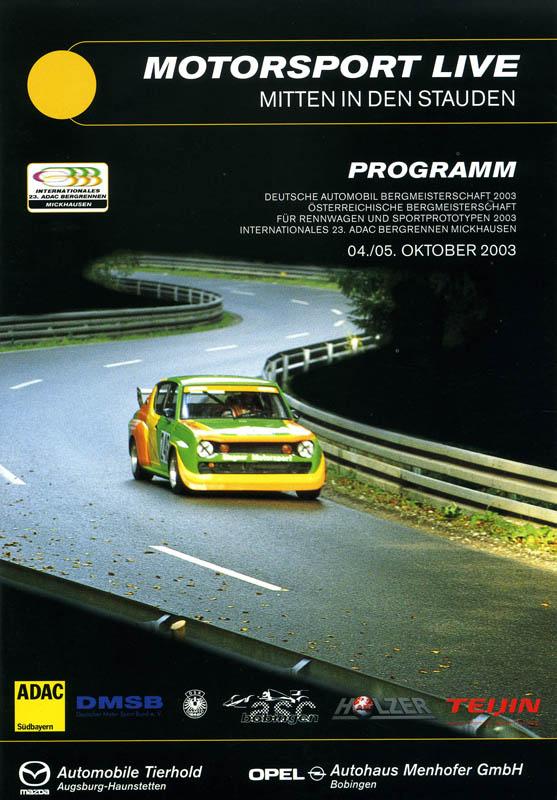 05.10.2003 - Mickhausen