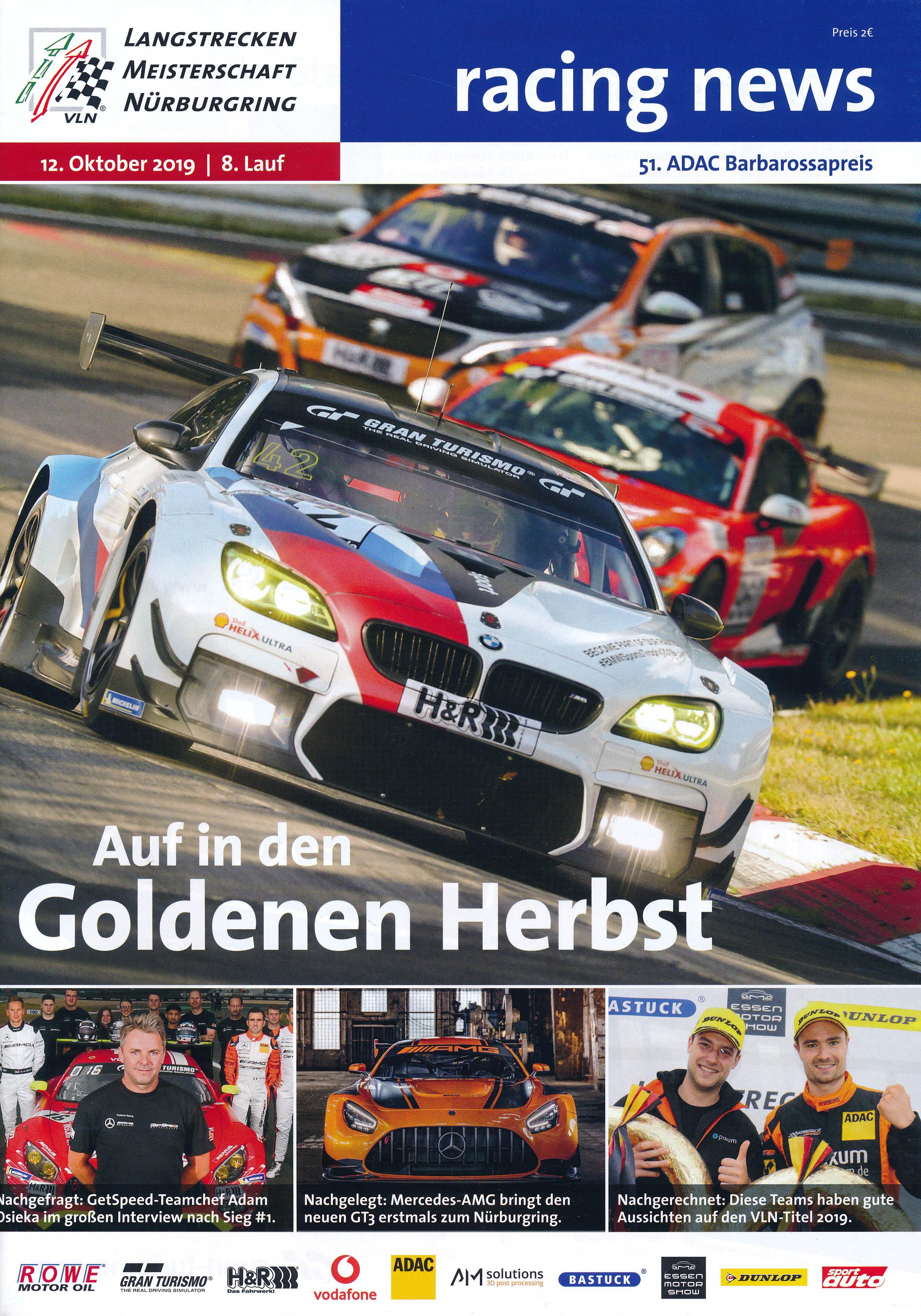 12.10.2019 - Nürburgring