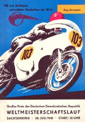 30.07.1961 - Sachsenring