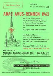 26.08.1962 - Avus