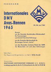 30.06.1963 - Avus