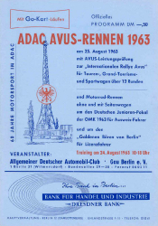 25.08.1963 - Avus