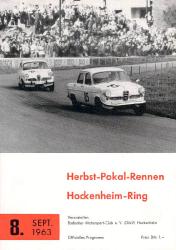 08.09.1963 - Hockenheim