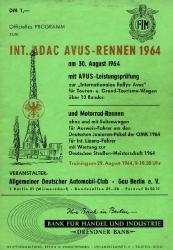 30.08.1964 - Avus