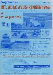 29.08.1965 - Avus