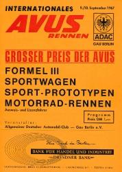 10.09.1967 - Avus