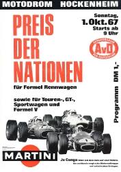01.10.1967 - Hockenheim