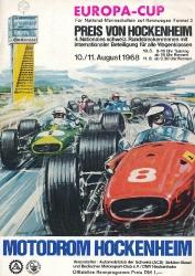 11.08.1968 - Hockenheim
