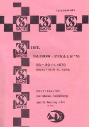 29.11.1970 - Hockenheim