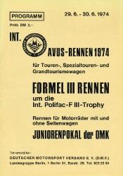 30.06.1974 - Avus