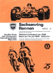 14.07.1974 - Sachsenring