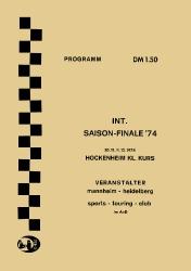 01.12.1974 - Hockenheim