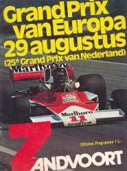 29.08.1976 - Zandvoort