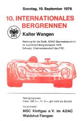 19.09.1976 - Kalter Wangen