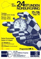 26.09.1976 - Nürburgring