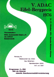 17.10.1976 - Eifel-Bergpreis