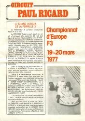 20.03.1977 - Paul Ricard
