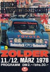 12.03.1978 - Zolder
