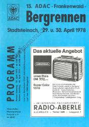 30.04.1978 - Frankenwald