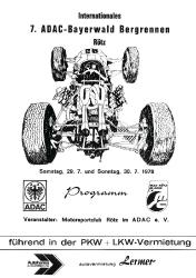 30.07.1978 - Bayerwald
