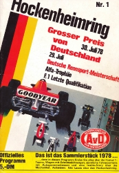 30.07.1978 - Hockenheim