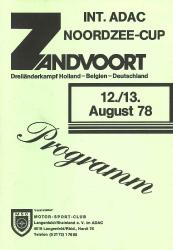 13.08.1978 - Zandvoort