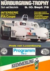 10.09.1978 - Nürburgring