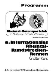 05.11.1978 - Hockenheim