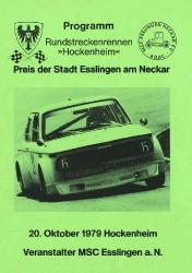 20.10.1979 - Hockenheim